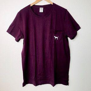 Victoria's Secret PINK Campus Short Sleeve Shirt